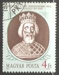 Sellos de Europa - Hungría -  St. László (1077-1095)