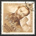 Stamps Hungary -  Ferenc Erkel (1810-1893)