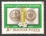 Stamps Hungary -  175º Aniversario Escuela de Agricultura Georgikon de Keszthely