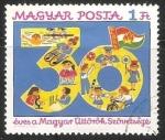Stamps Hungary -  30 aniversario de los pioneros hungaros