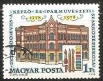 Sellos de Europa - Hungría -  200 años de la escuela de artes y manualidades para niños