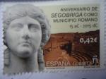 Sellos de Europa - España -  Ed:4993 - Aniversario de Segobriga, como Municipio Romano. 15 aC - 2015 dC - Culturas Antiguas.