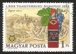 Sellos del Mundo : Europa : Hungría : Vinos regionales hungaros