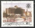 Sellos de Europa - Hungría -  InterContinental Budapest Hotel