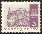 Sellos de Europa - Hungría -  Old view of Buda and UNESCO emblem