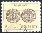 Sellos de Europa - Hungría -  Disco de plata Adornos de pelo de Sarospatak