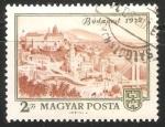 Stamps Hungary -  Vista de Budapest 1972