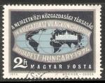 Stamps Hungary -  Congreso mundial de economistas de Budapest