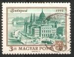Sellos de Europa - Hungría -  Vista de Budapest 1972