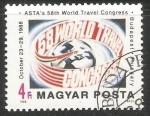 Sellos de Europa - Hungría -  Congreso mundial de turismo