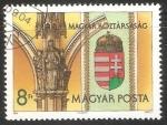 Stamps Hungary -  Nuevo escudo de armas de Hungria