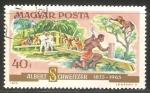 Stamps Hungary -  Hospital Albert Schweitzer