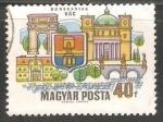 Sellos de Europa - Hungría -   Dunakanyar-Vác