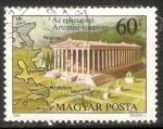 Sellos de Europa - Hungría -  Templo de Artemisa en Ephesos