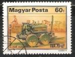 Sellos de Europa - Hungría -  1ª locomotiva electrica