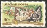 Stamps Hungary -  Dr. Schweitzer con un paciente