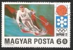 Stamps Hungary -  Juegos Olímpicos de Sapporo 1972