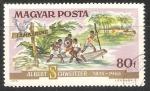 Stamps Hungary -  Paciente llegando en bote