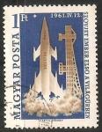Sellos de Europa - Hungría -  Vostok 1