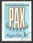 Sellos de Europa - Hungría -  20 aniversario movimiento por la paz