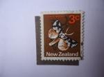 Stamps : America : New_Foundland :  Fauna: Lichen Moth - S/N.Z:442