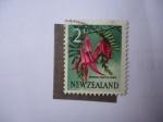 Stamps : America : New_Foundland :  Flora: Kowhai-Ngutu-Kaka - S/N.Z: 335