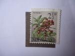 Stamps : America : New_Foundland :  Flora: Titoki - S/N.Z: 336