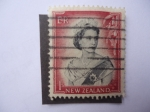 Stamps : America : New_Foundland :  Reina Isabel - S/N.Z: