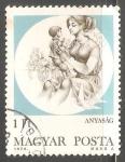 Sellos de Europa - Hungría -  Maternidad