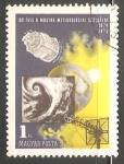Sellos de Europa - Hungría -  Centenario del servicio metereologico
