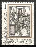 Sellos de Europa - Hungría -  Tipografia