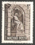 Sellos de Europa - Hungría -  Estatua de Liszt en la Opera Nacional