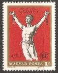 Sellos de Europa - Hungría -  Hombre libertandose de cadenas