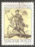 Sellos de Europa - Hungría -  El 300 aniversario Thököly Levantamiento de pie