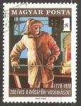 Sellos de Europa - Hungría -  200 años - Fundidor