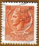 Stamps Italy -  SIRACUSANA