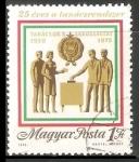 Sellos de Europa - Hungría -  25 años de las elecciones en Hungria
