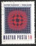 Stamps Hungary -  Pintura de Victor Vasarely