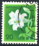 Sellos de Asia - Japón -  JAPON_SCOTT 1423.01 LIRIO DE PASCUA. $0,20