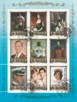 Stamps North Korea -  Lady Diana Spencer, Príncesa de Gales