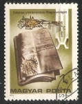 Sellos de Europa - Hungría -  Centenario de  la introduccion del sistema metrico decimal