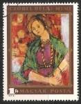 Sellos de Europa - Hungría -  Mimi by Béla Czóbel
