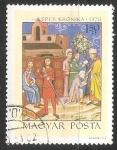Stamps Hungary -  Lucha entre Salomón y Géza