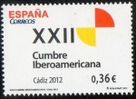 Stamps Spain -  4762- XXII Cumbre Iberoamericana. ( Cádiz )