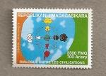 Stamps Africa - Madagascar -  Diálogo entre civilizaciones