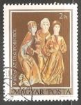 Sellos de Europa - Hungría -  Las tres Marias