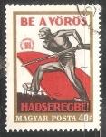 Sellos de Europa - Hungría -  Miembros de las milicias armadas