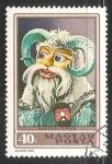 Sellos de Europa - Hungría -  Mascaras
