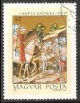 Sellos de Europa - Hungría -  Decapitación de Pagano Jefe Koppany,