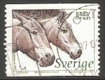 Stamps Sweden -  Caballos